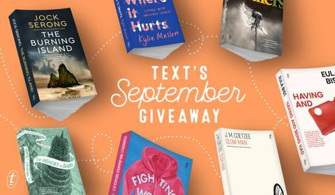 September New Books and Giveaway