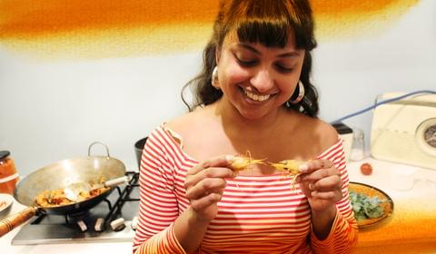 Shalini Cooks a Curry from Curry by Naben Ruthnum