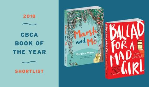 Two Text books on the CBCA Shortlist
