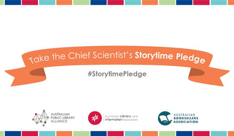 Take the Storytime Pledge these summer holidays