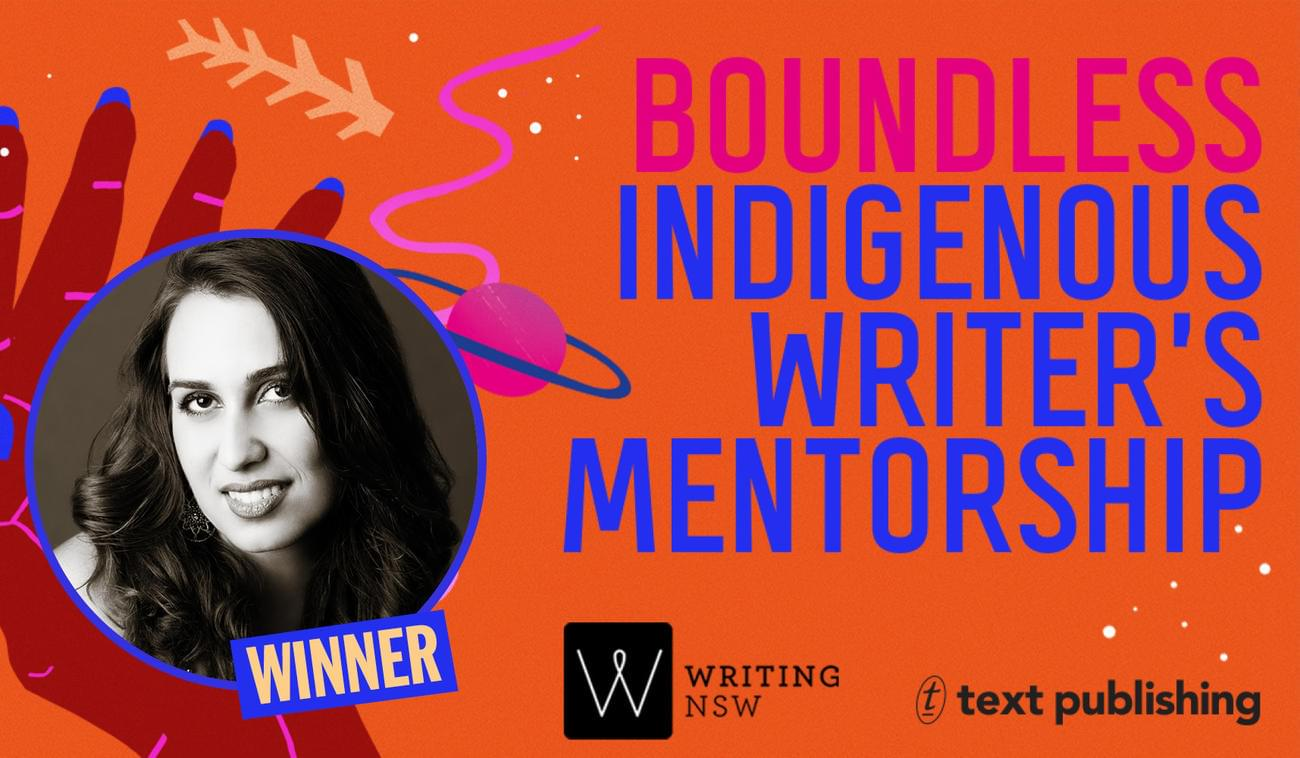 Text/Writing NSW Boundless Indigenous Writer's Mentorship