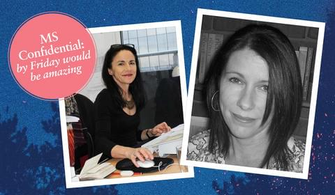 MS Confidential: Vikki Wakefield and Penny Hueston