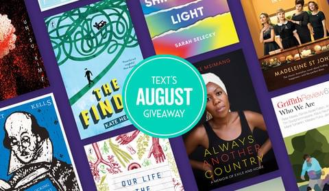 August's New Books and Giveaway