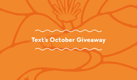 Text's October Books and Giveaway