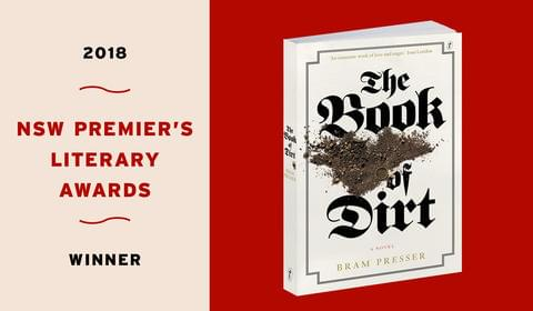 The Book of Dirt wins Three NSW Premier's Literary Awards!