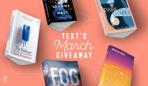 March New Books and Giveaway