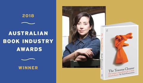 Sarah Krasnostein's The Trauma Cleaner wins at the ABIAs!