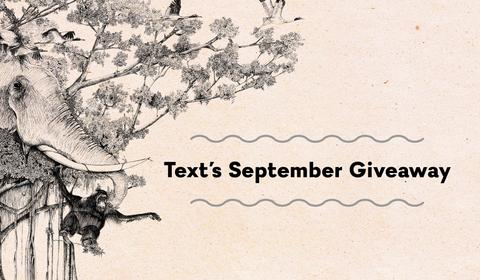 Text's Stupendous September Giveaway!
