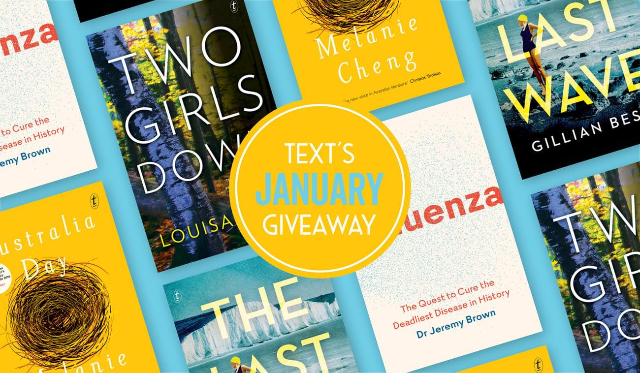 January New Releases and Giveaways