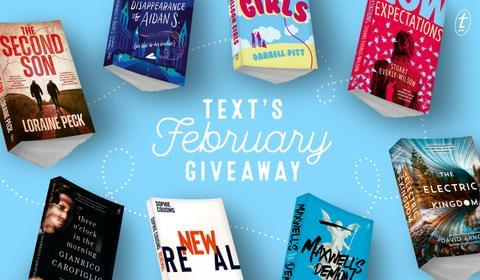 February New Books and Giveaway