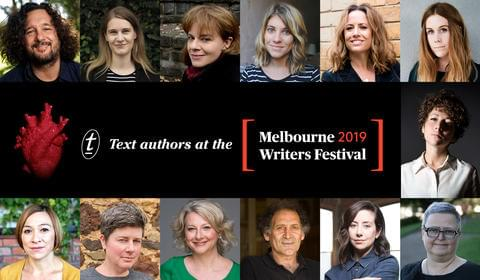 Text Authors at the Melbourne Writers Festival