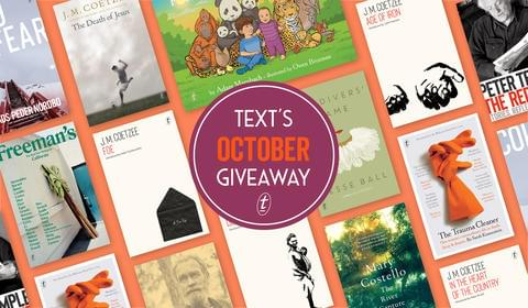 October New Books and Giveaway