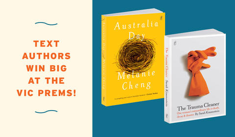 Text Authors Win Big at the 2018 Vic Prems Awards!