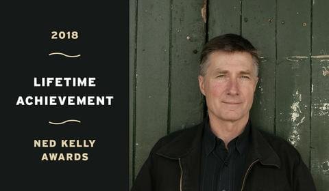 Garry Disher Receives Ned Kelly Award for Lifetime Achievement