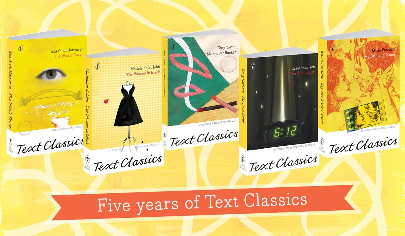 5 Years of Text Classics