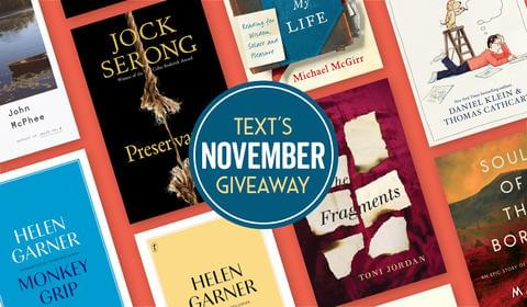 November New Books and Giveaways