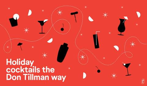 Holiday Cocktails the Don Tillman Way