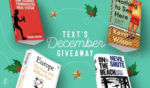 December New Books and Giveaway