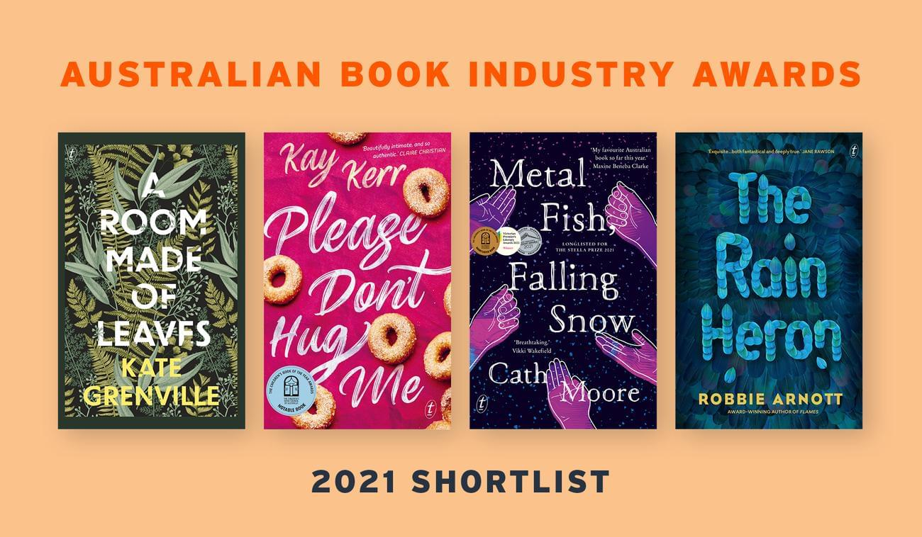4 Text Titles shortlisted for the 2021 ABIAs