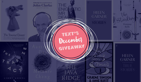 Text's December Books and Monthly Giveaway