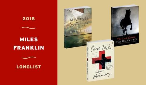 Three Text Books on the 2018 Miles Franklin Longlist