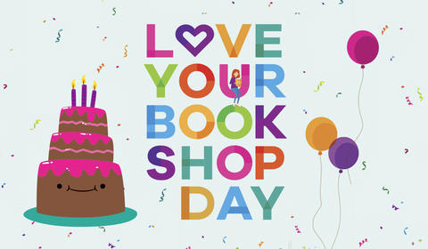 We love bookshops so much we want you to give them cake!