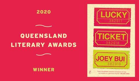 Joey Bui wins a Queensland Literary Award