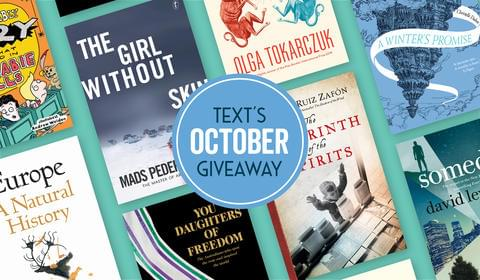 October New Books and Giveaways