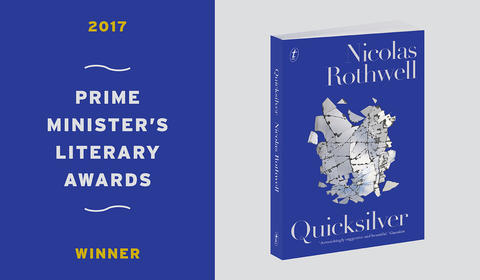 Quicksilver by Nicolas Rothwell has won the PM's Lit Award for Non-Fiction!