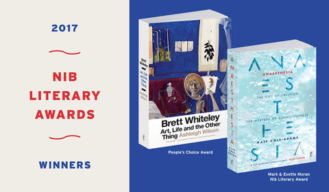 Anaesthesia and Brett Whiteley win at the Waverley Council Nib Literary Awards