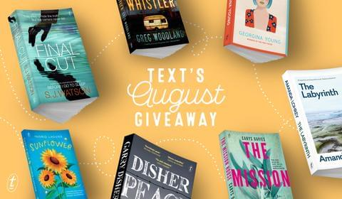 August New Books and Giveaway