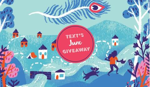 Text's New June Books and Giveaway!