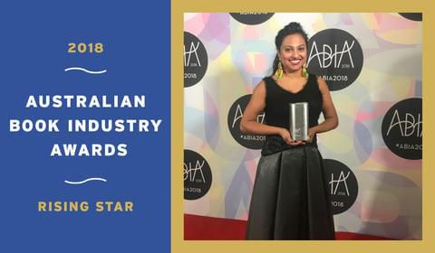 The 2018 Australian Book Industry's Rising Star is Text's Very Own Shalini Kunahlan!