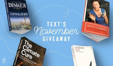 November New Books and Giveaway
