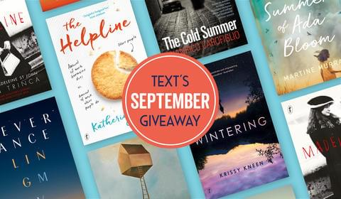 Text's New September Books and Giveaway