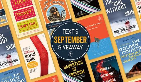 September New Books and Giveaways