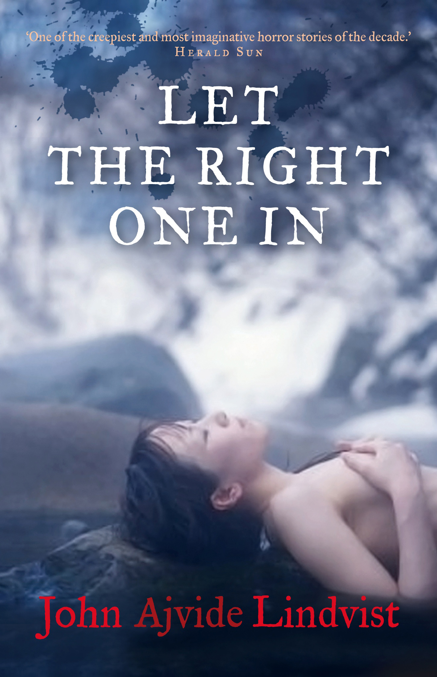John Ajvide Lindqvist $2999 · Let The Right One In
