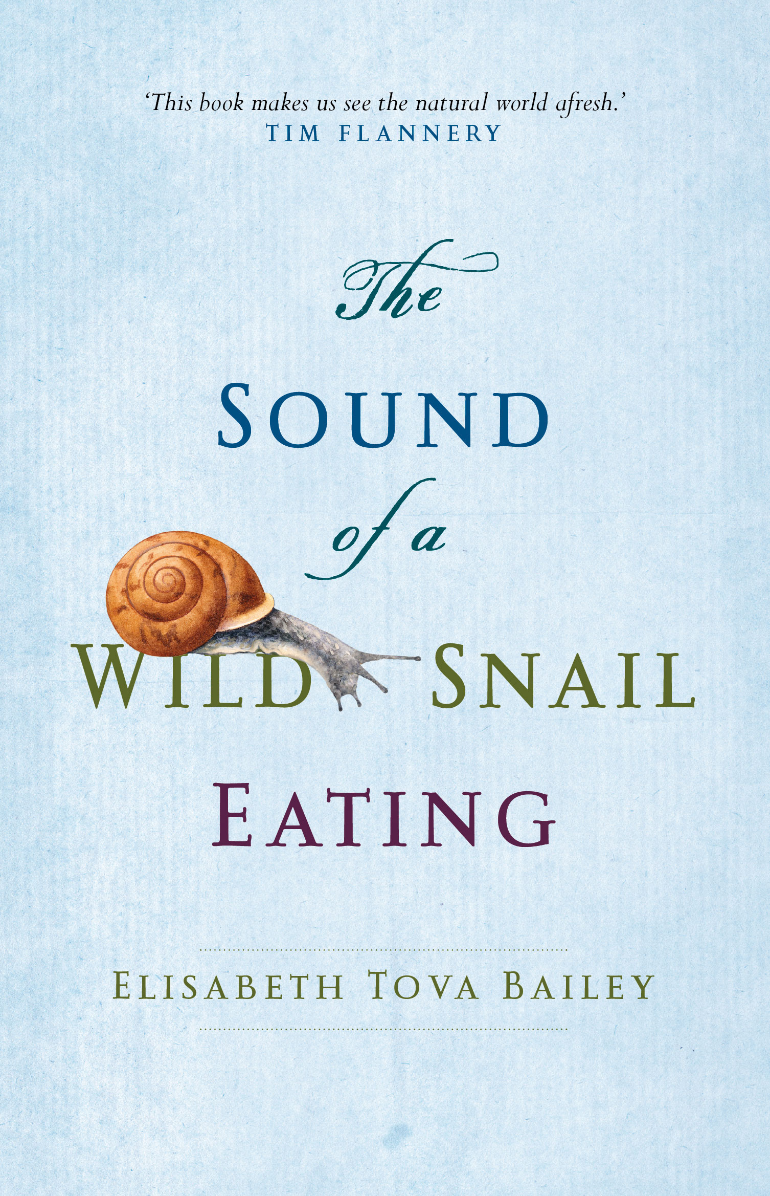 Text Publishing — The Sound of a Wild Snail Eating, book by Elisabeth