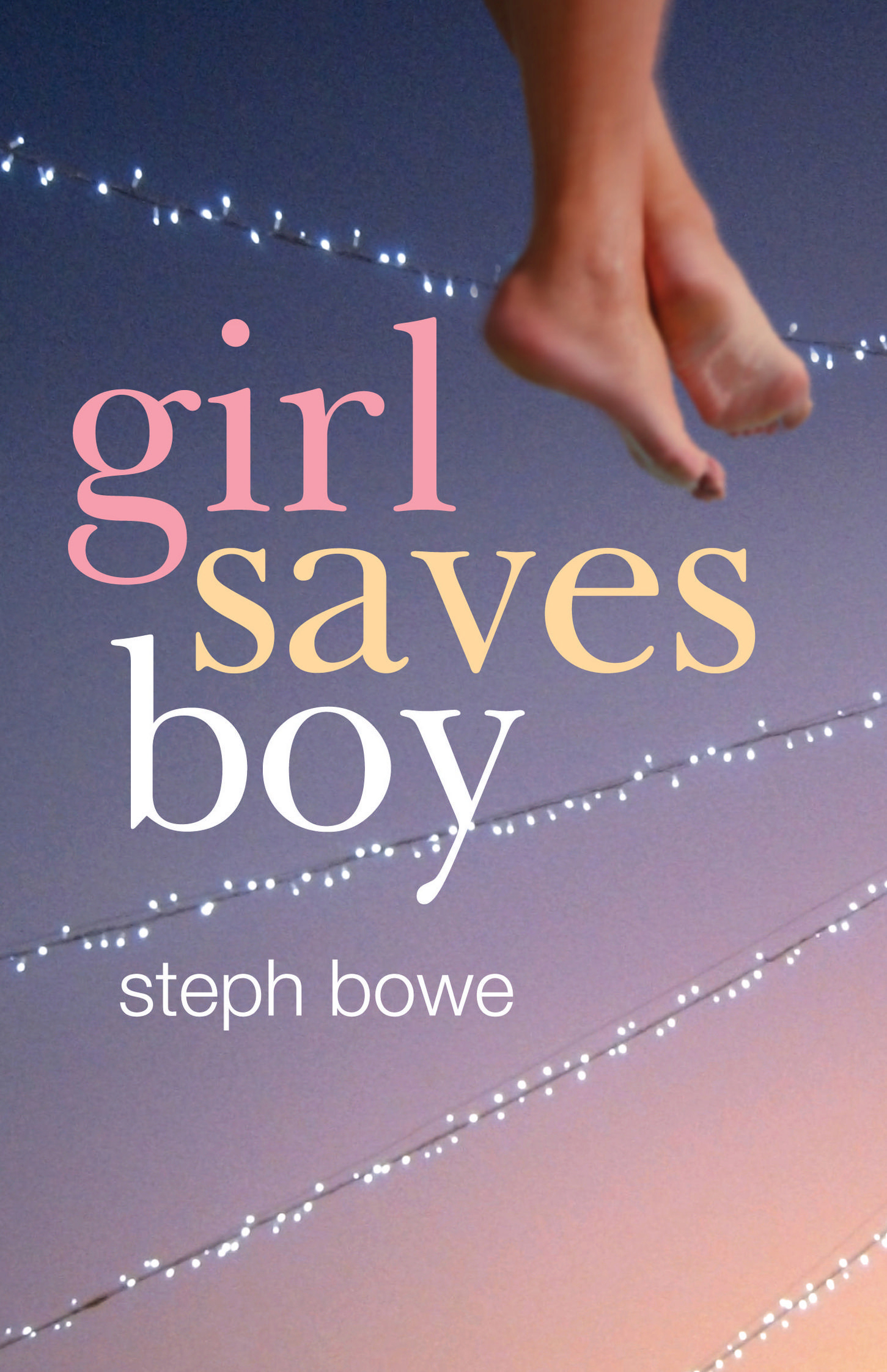 Text Publishing Girl Saves Boy Book By Steph Bowe