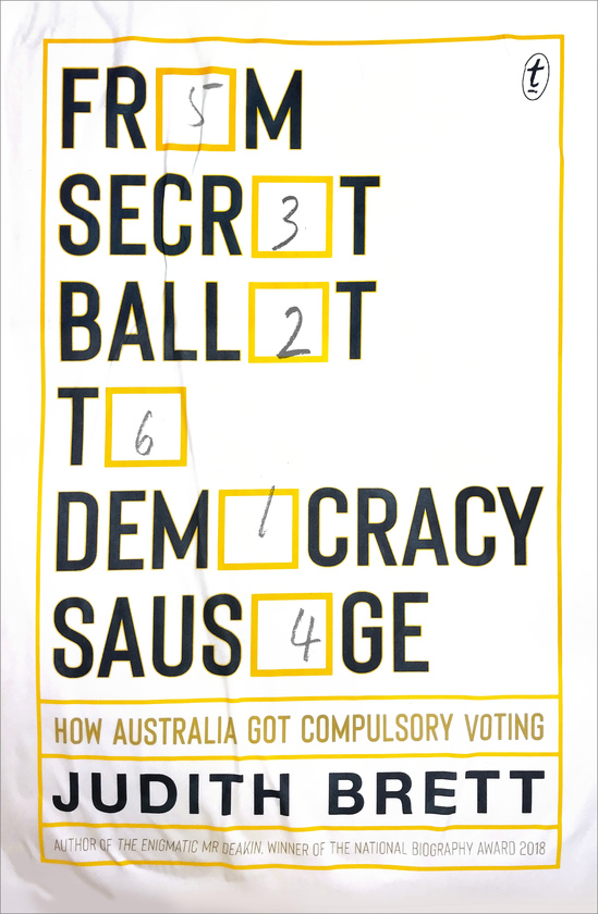 From Secret Ballot to Democracy Sausage