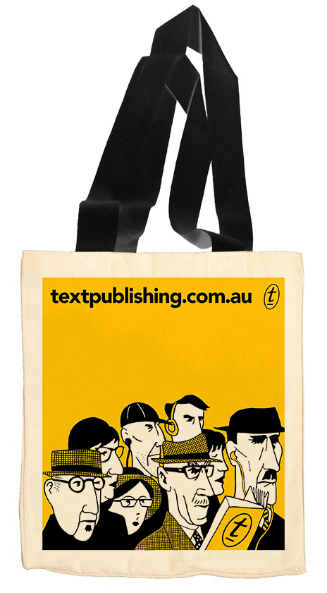Text Tote – They're a Weird Mob