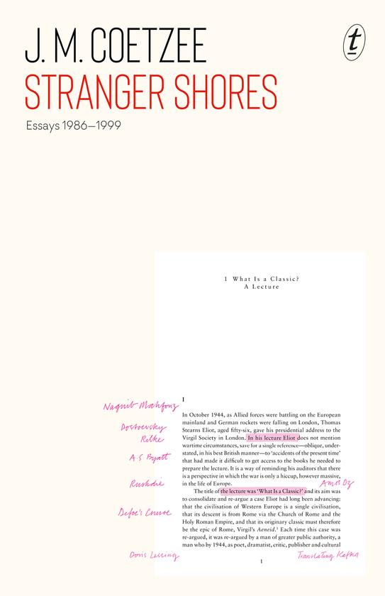 Stranger Shores: Essays 1986-1999