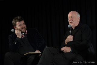 Michael Williams and John Clarke at the 2014 Lighthouse Literary Festival