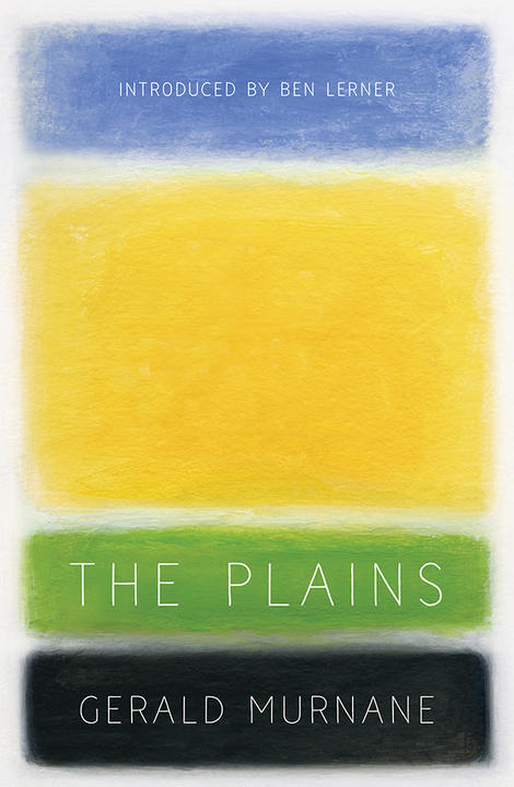 Book cover for The Plains by Gerald Murnane
