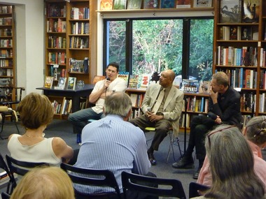 Politics and Prose, Washington DC, with Quintin Peterson and Wolf Haas
