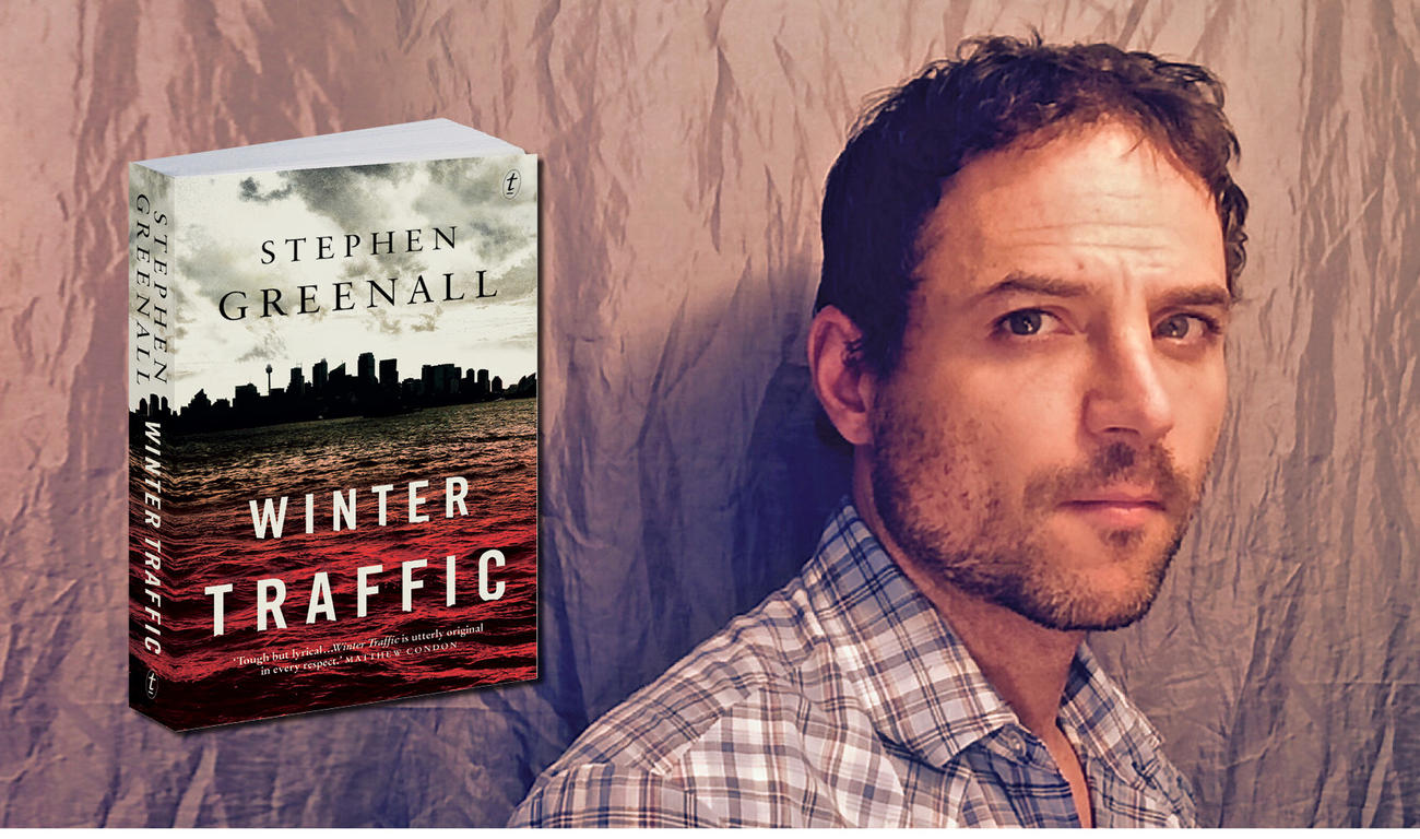 Five Questions with Stephen Greenall, Author of Winter Traffic