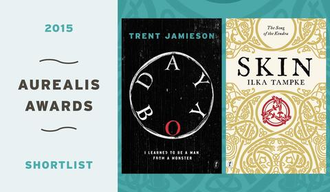 Congratulations to Aurealis Award Shortlistees Trent Jamieson and Ilka Tampke