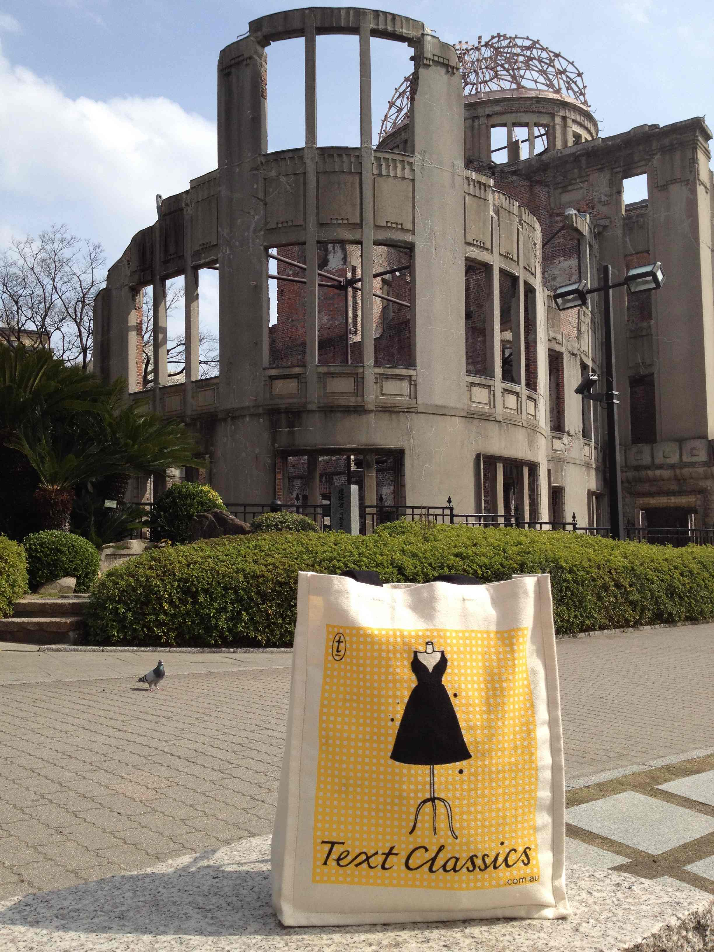 Text Classics find a trip to the A-bomb Dome in Hiroshima a sobering experience