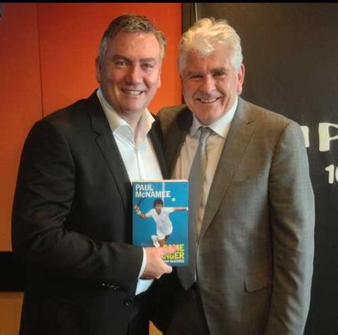 Eddie McGuire and Paul McNamee at TripleM