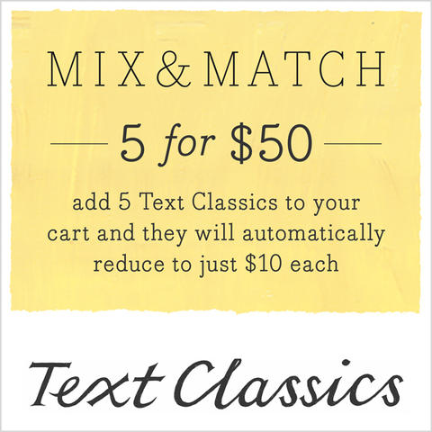 Text Classics Special Offer